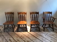 Sturdy antique chairs 3744 km