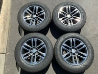 "2019 Chevy Colorado Factory 18"" Wheels Tires OEM Rims Take Offs!! Surrey, V4N 1Z3"