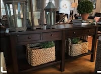 Pottery Barn consile table SEATTLE