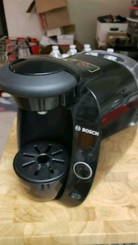 black and gray Bosch Tassimo coffeemaker Fairfax, 22030