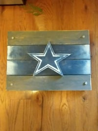 Dallas cowboys wooden wall piece 431 mi