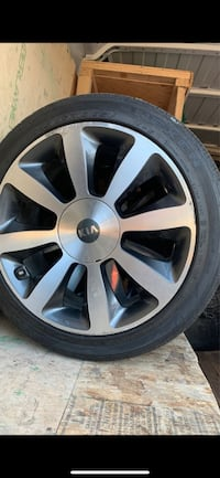 """Tires With Rims (Size 18"""")"""
