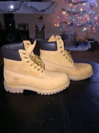 New men's size 8 timberland boots Cohoes