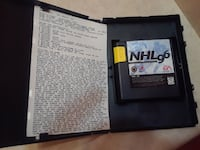 NHL 96 game cartridge St. Catharines, L2S 1W7