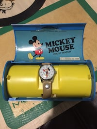 TWO 1970 Bradley Mickey Mouse Watch Burbank, 91506