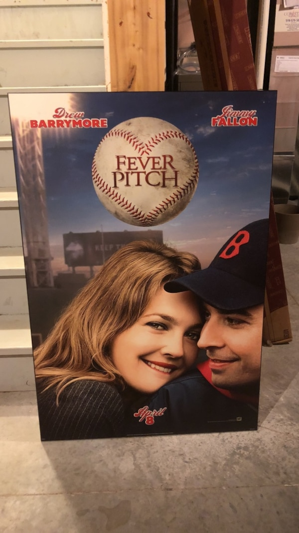 """Fever Pitch Plak """"Ready to hang"""""""
