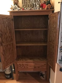 Wood cabinet with copper displays Martinsburg, 25404