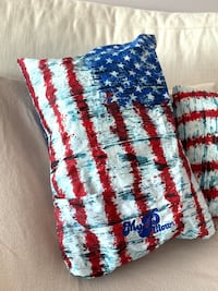 "Unique set of travel ""My Pillow"" American Flag - Washable & very comfy Washington, 20016"
