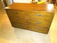 Solid wood dresser 3 drawers Bristol, 06010