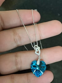 925 sterling silver chain and pendant
