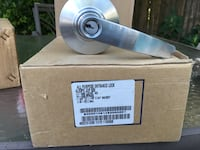 Stainless steel door knob with lock Mc Lean, 22101
