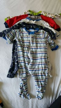 0-6 Months footed infant sleepers  Waldorf, 20603