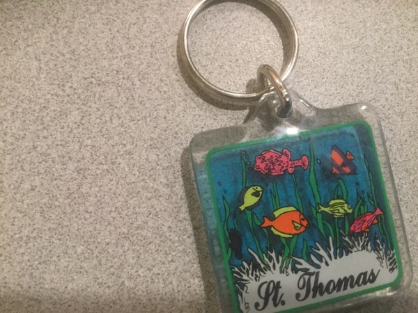 Keychain from St Thomas