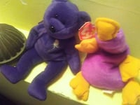 Good condition on both with all sing tags plush