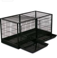 ProSelect Modular Pet Cages dimensions in pic.