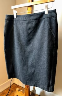 Grey Pencil Skirt size L