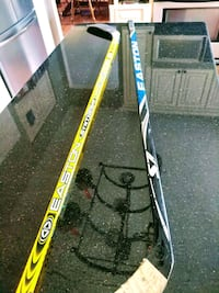 Set of Easton hockey sticks  Manassas, 20112
