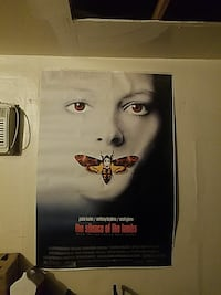 Silence of the Lambs wall poster