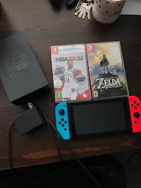 white Nintendo Switch with box Burbank, 91505