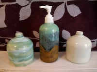 Hand-glazed Ceramic Soap Dispensers Brunswick, 21716