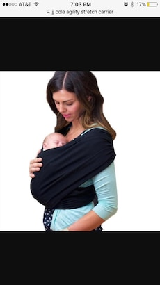 Baby carrier- Jj Cole agility carrier