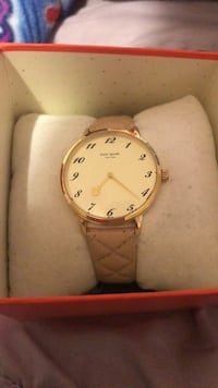 Light pink Kate Spade watch with leather strap San Jose, 95128