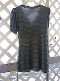 black and gray scoop-neck long-sleeved dress Las Vegas, 89122