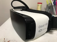 white and black Gear VR virtual reality headset Toronto, M3C