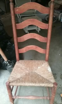 antique wicker style chair