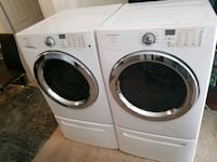 Nice Frigidaire Front Load Washer/Dryer/w steam Irving, 75039