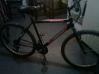 red and black hardtail bike 1963 km