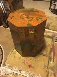 Octagonal box side table  Vancouver, V5S