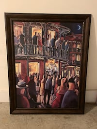 "36"" x 46"" Framed Canvas Print (New Orleans) Herndon, 20171"