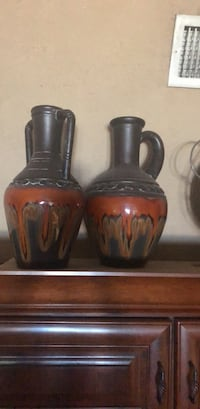 Vase two 15 inches each  nice pieces Port Orange, 32127