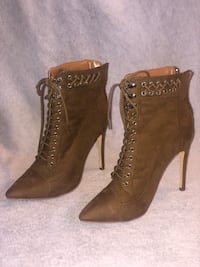 Maggie Lace Up Bootie  Los Angeles, 90012