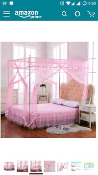 white and pink wooden bunk bed San Jose, 95129