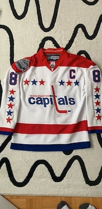 Ovechkin Jersey Winter Classic 2011 Size 56 With Fighter Strap