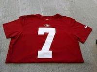 49ers Football T-shirt Size Medium Billings, 59102