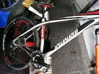 black and white hardtail mountain bike Catonsville, 21228