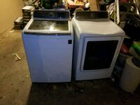 Used Samsung Waher and dryer  Baton Rouge, 70805
