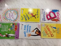 6  Dr.Seuss Kids story books in excellent conditions like brand new each $5 502 km