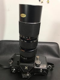 Sears TLS Film Camera & 85mm-205mm Lens