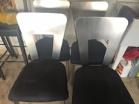 Four Black chairs very sturdy and heavy  Roswell, 88201