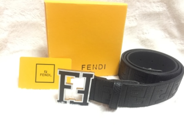 New Fendi leather belt