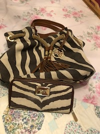 MICHEAL KORS Zebra print  bag/ plus wallet is available for an additional 75.00 Hattiesburg, 39401