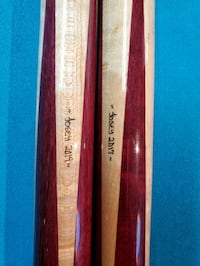 Keith josey matching pool stick  set For Sale