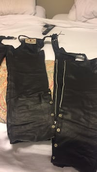 Size XL leather chaps Rogers, 72758