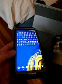 black Samsung Galaxy android smartphone Calgary, T2T 0H9