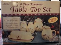 Table top set