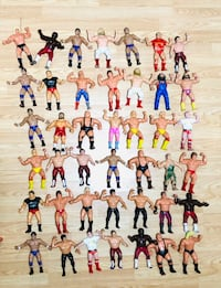 Vintage LJN WWE WWF Wrestling Figures In great shapes! Milton, L9T 4H8